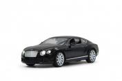 Jamara 404510 27 MHz 1:14 Scale Black Bentley Continental GT Speed Deluxe Car