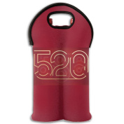 Wine Tote Carrier Bag Valentines's Day 520 Purse For Champagne,Water Bottles