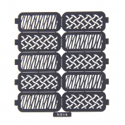 Nizi Jewellery For 3D Nails Art Polish Hollow Stencils Stickers Beauty Decals Multipurpose Cut Colour Ns09