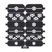 Nizi Jewellery For 3D Nails Art Polish Hollow Stencils Stickers Beauty Decals Multipurpose Cut Colour Ns21