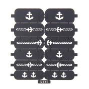 Nizi Jewellery For 3D Nails Art Polish Hollow Stencils Stickers Beauty Decals Multipurpose Cut Colour Ns23