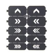 Nizi Jewellery For 3D Nails Art Polish Hollow Stencils Stickers Beauty Decals Multipurpose Cut Colour Ns27