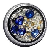 Demiawaking 3D Nail Art Glitter Rhinestones Tips Decorations Gems Crystal Tear Drop Mixed Shapes Manicure Nail Accessories