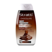 stratti Chocolate and KERATINA Shampoo Repair Total, Without Salt – 400 ml