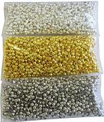 2 mm Round Crimp Beads Metal Beads Metal Beads 1050 Multicolour M9