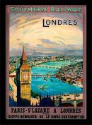 "National Railway Museum ""London (10)"" Framed Print, Multi-Colour, 30 x 40 cm"