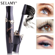 KaloryWee Beauty 3D Thickening and Lengthening Black Natural Fibre Lash Mascara Extensions Growth - Long Lasting Waterproof
