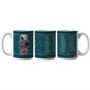 Philadelphia Eagles Super Bowl LII 52 Champions Team Roster 440ml Coffee Mug