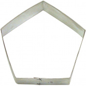 Pentagon Cookie Cutter 8.3cm B702 - Foose Cookie Cutters - USA Tin Plate Steel