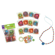 Chenille Kraft 100 Days Bead Kits, 12-Pack