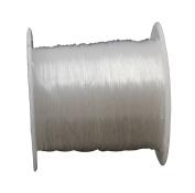 22 Metre Silicone Jewellery Thread 0.5 mm Transparent Crystal Jewellery Beading Thread Elastic Thread Bracelets Craft Beading Thread Hand Jewellery Bracelet Making Cord C138