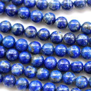 Natural Colour Genuine Blue Lapis Lazuli Real Gemstone Loose Beads for Necklace Jewellery Making (round 4mm) by fashion-us