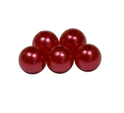 Corderie Italiane 006042907 Beads for Professional Use, Loop Hole 2 mm, 115 Pieces, Red