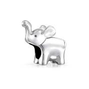 truecharms Silver Plated Lucky Elephant Animal Charm Beads Fits European Jewellery Charms Bracelets