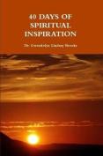 40 Days of Spiritual Inspiration