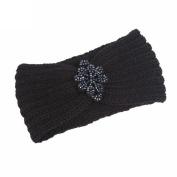 Wokee Creative Women Knitting Headband Beautiful Handmade Keep Warm Hairband