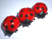 Ladybird Hair Barrette – Hair Clip With Happiness beetle, Good Luck, Hair Accessories Hair Clip Gift