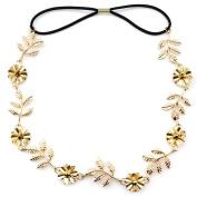 BIGBOBA Leaves Flowers Diamond Headband Hairband Hair Accessories For Women Girls