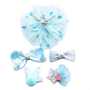 Angie La child Ornaments baby Headdress Hair ornaments Hairpin Deduction01