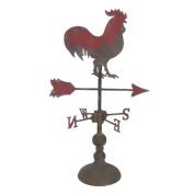 Sagebrook Home Metal Rooster Decorative Weathervane