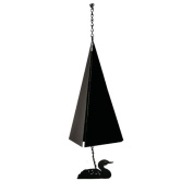 North Country Wind Bells, Inc. Original and Authentic Maine Camden Reach Wind Bell with Loon Windcatcher