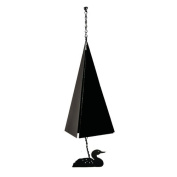North Country Wind Bells, Inc. Original and Authentic Maine Cape Cod Wind Bell with Loon Windcatcher