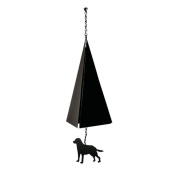 North Country Wind Bells, Inc. Original and Authentic Maine Boothbay Harbour Wind Bell with Labrador Windcatcher