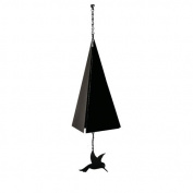 North Country Wind Bells, Inc. Original and Authentic Maine Bar Harbour Wind Bell with Hummingbird Windcatcher