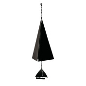North Country Wind Bells, Inc. Original and Authentic Maine Cape Cod Wind Bell with Skipjack Windcatcher
