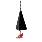 North Country Wind Bells, Inc. Original and Authentic Maine Bar Harbour Wind Bell with Cardinal Windcatcher
