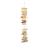 Nautical Decor Ramosus Shell Driftwood Wind Chime 60cm