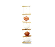 Nautical Decor Scallop Shell Ladder Wind Chime 90cm