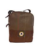 AS-ROMA Men's Shoulder Bag Brown Dark Brown (Testa di moro) S