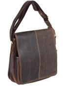Greenburry Vintage 1729-25 Leather Messenger Business Bag
