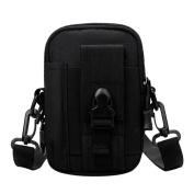 Domybest Waterproof Men Waist Pack Outdoors Running Small Crossbody Shoulder Messenger Bag Handbag