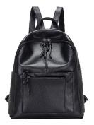Bonjouree Women's Backpack Handbag black black