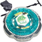 Rock Leone 145WB Metal Fusion Fight Beyblade STARTER PACK w/ Launcher & Ripcord