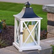 Smart Living York 50cm . Triple Indoor/Outdoor LED Candle Lantern