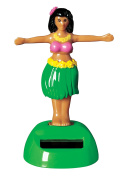 Solar Dancing Hula Girl - Solar Powered Toy, Motion Dancer Doll for Car Dashboard or Windowsill