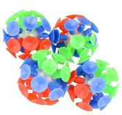 5.1cm Fun Suction Balls Bulk Pack 1 Dozen