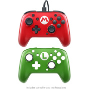 PDP Nintendo Switch Faceoff Deluxe Wired Pro Controller - Super Mario Officially licensed by