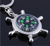 Rudder compass key chain,BFF friendship keychain, Compass keychain, Best Friends Keychai, Holiday Gift ,Gift For Friends, Best Friends Forever