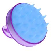Vanpower Silicone Head Shampoo Scalp Massage Brush Hair Scalp Washing Comb