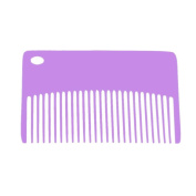 Vanpower Professional Stainless Steel Small Comb Metal Anti Static Comb