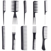 Aosika Combs Salon Hair Styling Hairdressing hairdresser Barber Combs Set