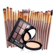 Make up eye colour shadow Makeup Brush Beauty Eye Shadow Foundation Set Kit glitter palette cream eyeshadow Powder Palette for Women Lady