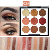 FEITONG Clearance!!!9 ColorPearl Glitter Eye Shadow Powder Palette Matt Eyeshadow Cosmetic Makeupp