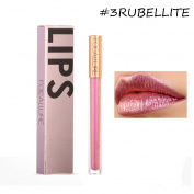 Allbesta Mermaid Glitter Shimmer Lip Gloss Liquid Lipstick Lip Liner Make Up Lip Gloss