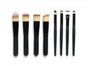 Cosanter Professional Woman Makeup Brushes Cosmetics Brush Set Artificial Fibre Brushes