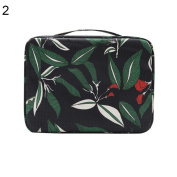 Portable Durable Travel Cosmetic Pouch Wash Bag Makeup Brush Holder Large Capacity Tote Case
